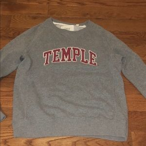 temple sweatshirt